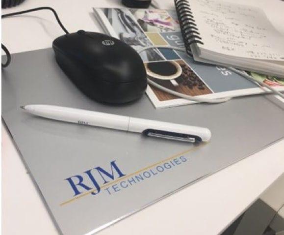 rjm technologies mouse pad
